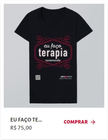 Adquira Camisetas Psico.Online